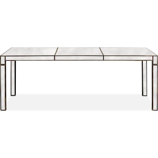 Domaine Rectangular Dining Table - Mirror