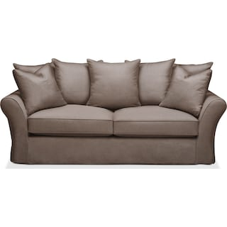 Allison Sofa- Cumulus in Hugo Mocha