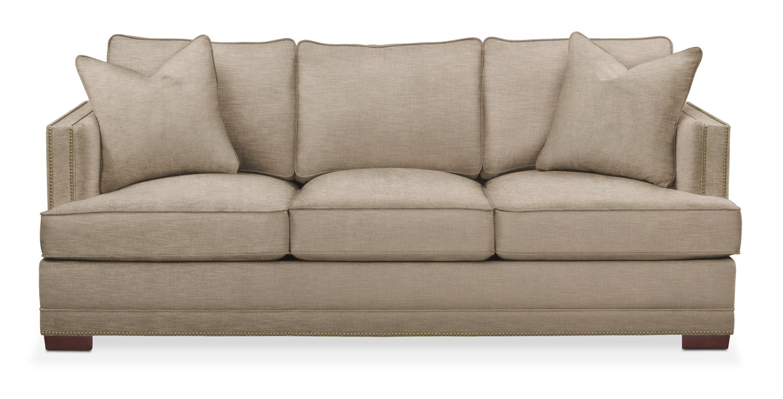 Superior Living Room Furniture   Arden Sofa  Cumulus In Dudley Burlap