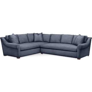 Asher 2 Pc. Sectional with Right Arm Facing Sofa- Cumulus in Curious Eclipse