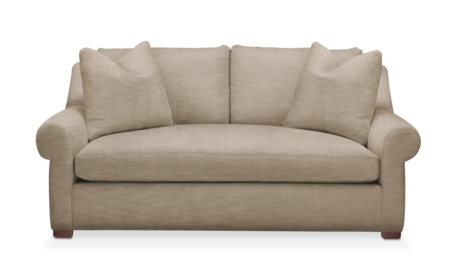 Attirant Asher Apartment Sofa  Cumulus In Dudley Burlap By Kroehler