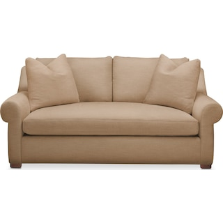 Asher Apartment Sofa- Cumulus in Hugo Camel