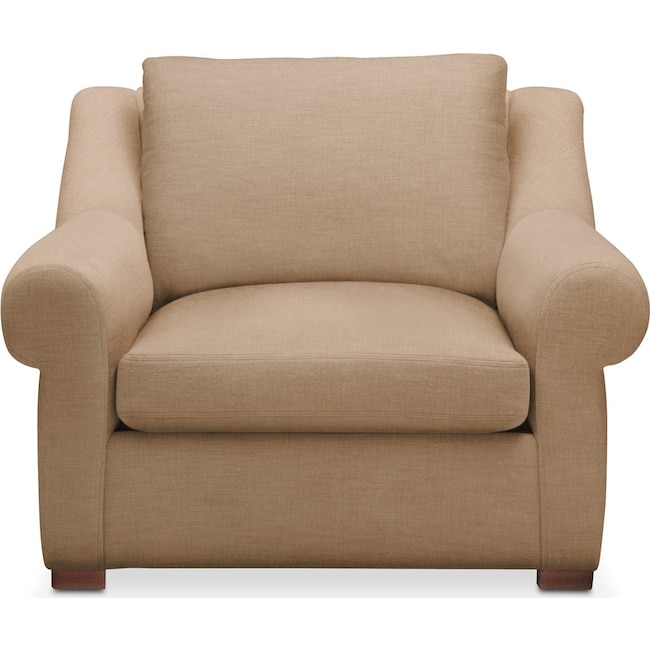 Living Room Furniture - Asher Chair- Cumulus in Hugo Camel
