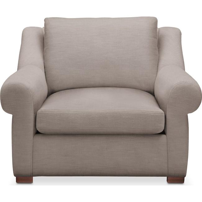 Living Room Furniture - Asher Chair- Cumulus in Abington TW Fog