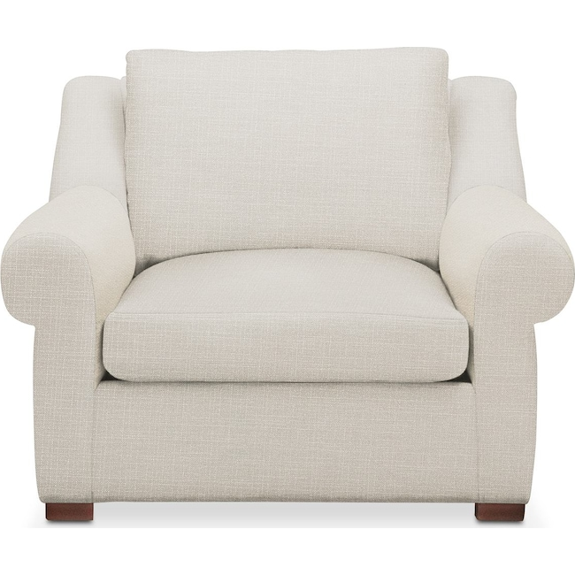 Living Room Furniture - Asher Chair- Cumulus in Anders Ivory