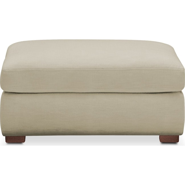 Living Room Furniture - Asher Ottoman- Cumulus in Abington TW Barley
