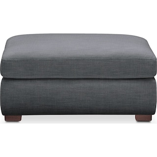 Asher Ottoman- Cumulus in Charcoal