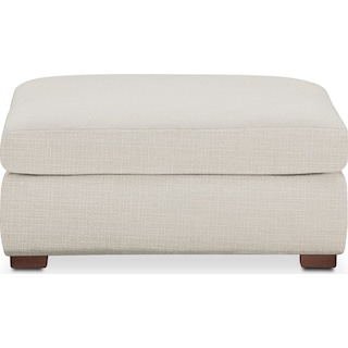 Asher Ottoman- Cumulus in Victory Ivory