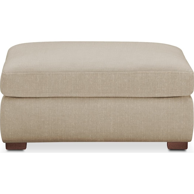 Accent and Occasional Furniture - Asher Ottoman- Cumulus in Depalma Taupe