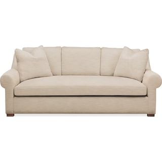 Asher Sofa- Cumulus in Dudley Buff