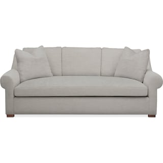 Asher Sofa- Cumulus in Dudley Gray
