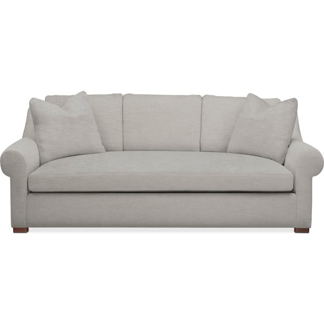Living Room Furniture - Asher Sofa- Cumulus in Dudley Gray