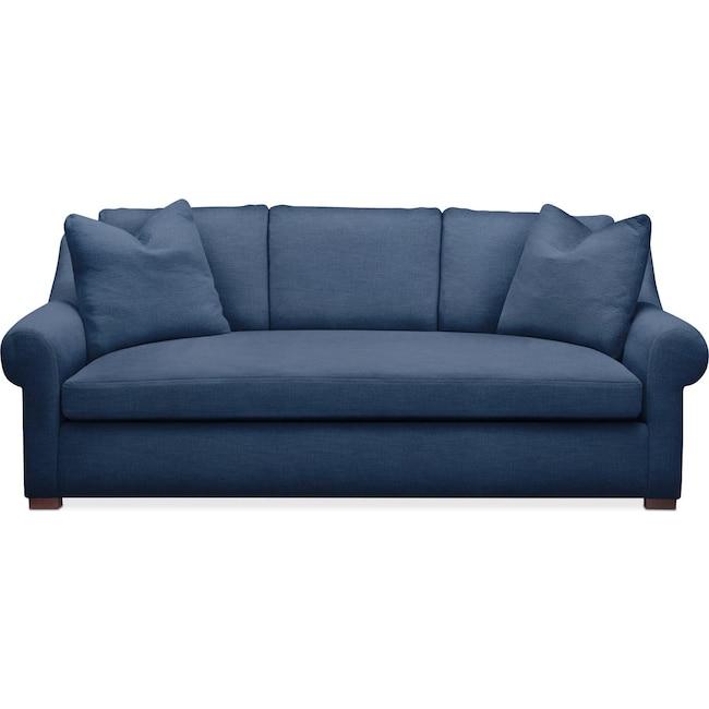 Living Room Furniture - Asher Sofa- Cumulus in Hugo Indigo