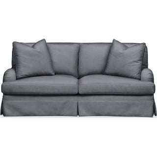 Campbell Apartment Sofa- Cumulus in Millford II Charcoal