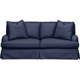 Campbell Apartment Sofa- Cumulus in Oakley III Ink