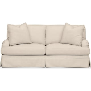 Campbell Apartment Sofa- Cumulus in Curious Pearl