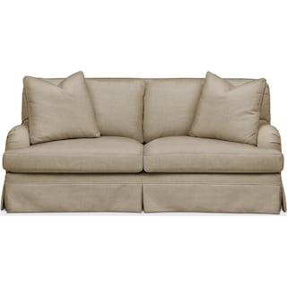Campbell Apartment Sofa- Cumulus in Millford II Toast