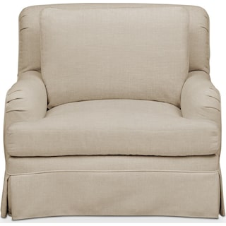 Campbell Chair- Cumulus in Depalma Taupe