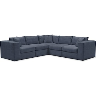 Collin 5 Pc. Sectional - Cumulus in Curious Eclipse