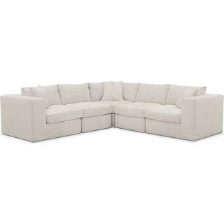 Collin 5 Pc. Sectional - Cumulus in Victory Ivory
