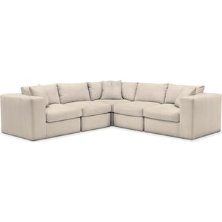 Collin 5 Pc. Sectional - Cumulus in Curious Pearl