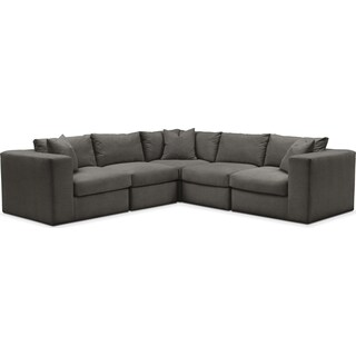 Collin 5 Pc. Sectional - Cumulus in Statley L Sterling