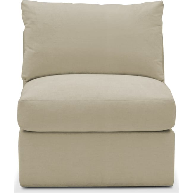 Living Room Furniture - Collin Armless Chair- Cumulus in Abington TW Barley