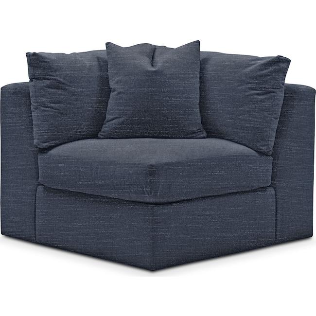 Living Room Furniture - Collin Corner Chair- Cumulus in Curious Eclipse