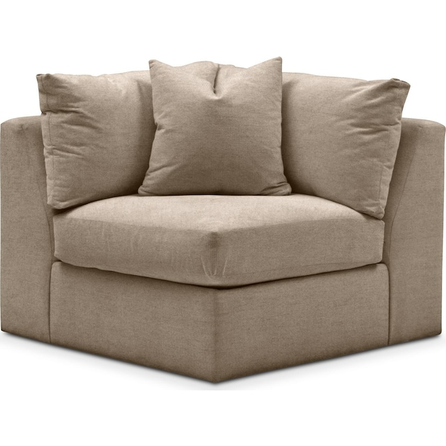 Living Room Furniture - Collin Corner Chair- Cumulus in Statley L Mondo