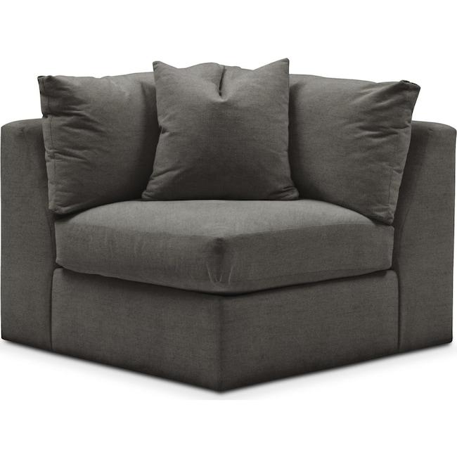 Living Room Furniture - Collin Corner Chair- Cumulus in Statley L Sterling