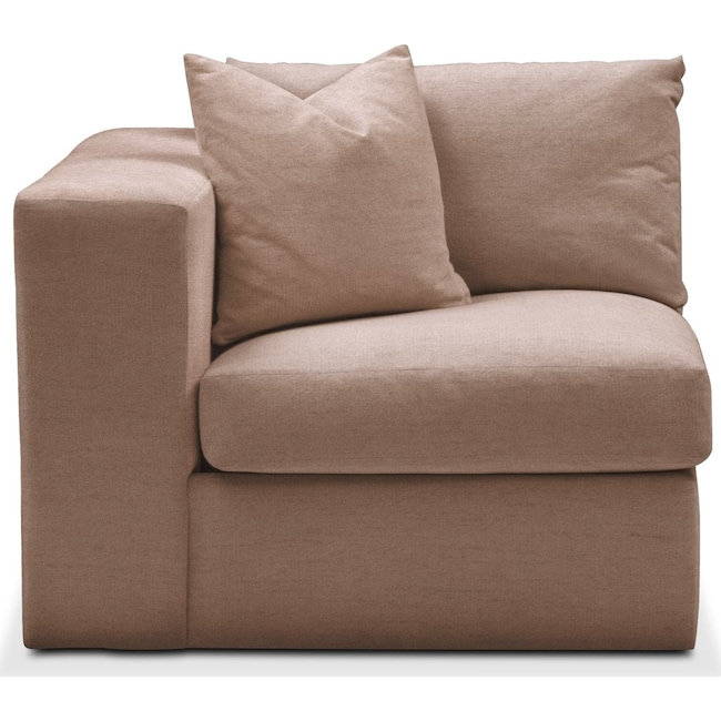 Living Room Furniture - Collin Left Arm Facing Chair- Cumulus in Abington TW Antler
