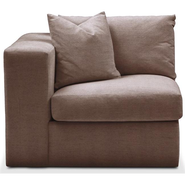 Living Room Furniture - Collin Left Arm Facing Chair- Cumulus in Oakley III Java