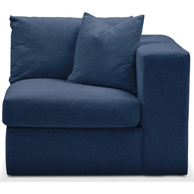 Living Room Furniture - Collin Right Arm Facing Chair- Cumulus in Hugo Indigo