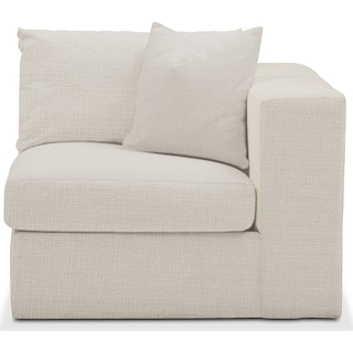 Collin Right Arm Facing Chair- Cumulus in Victory Ivory