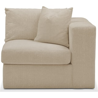 Collin Right Arm Facing Chair- Cumulus in Depalma Taupe