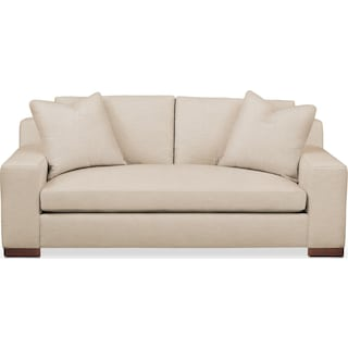 Ethan Apartment Sofa- Cumulus in Dudley Buff