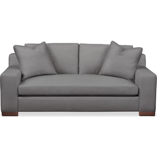 Ethan Apartment Sofa- Cumulus in Hugo Graphite