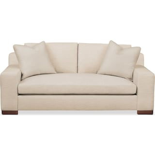 Ethan Apartment Sofa- Cumulus in Anders Ivory