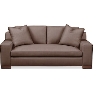Ethan Apartment Sofa- Cumulus in Oakley III Java