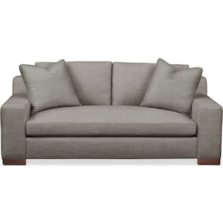 Ethan Apartment Sofa- Cumulus in Victory Smoke