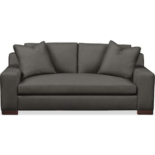 Ethan Apartment Sofa- Cumulus in Statley L Sterling