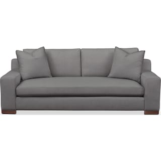 Ethan Sofa- Cumulus in Hugo Graphite