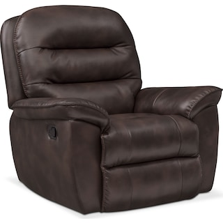 Regis Glider Recliner - Chocolate