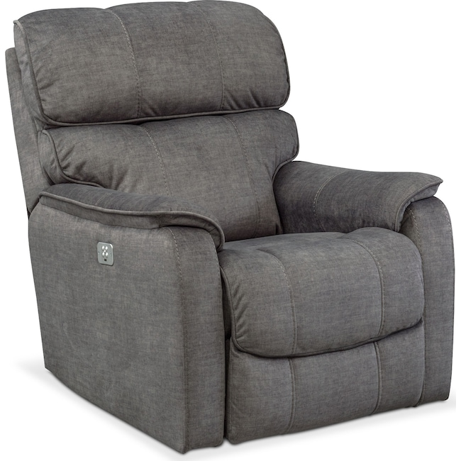 mondo dual power recliner value city furniture and mattresses