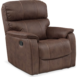 Mondo Glider Recliner - Brown