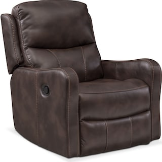 Cabo Glider Recliner - Chocolate