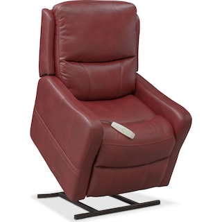Cabo Power Lift Recliner - Red