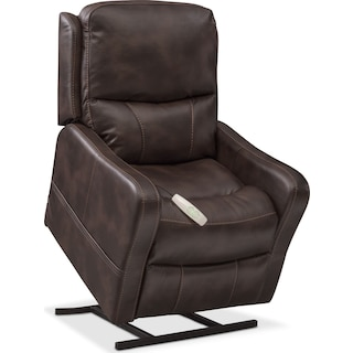 Cabo Power Lift Recliner - Chocolate
