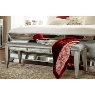 Angelina Bench - Metallic