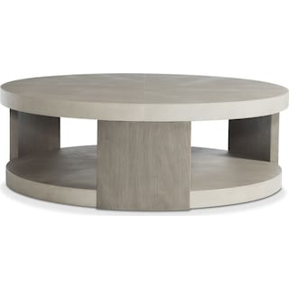 Riviera Cocktail Table - Silver